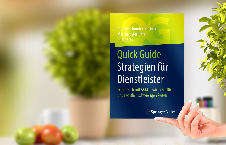 Strategien für Dienstleister. Das Buch. Herausgeber Springer-Verlag. Als eBook und Softcover.